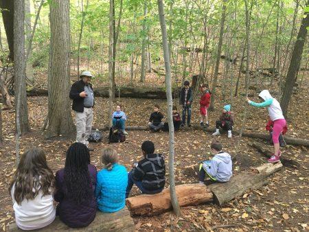 Smith 4th grade woods